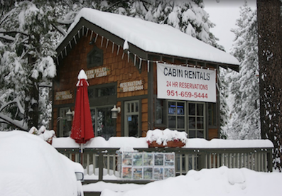 Idyllwild Cabins Rental Office in Idyllwild, California